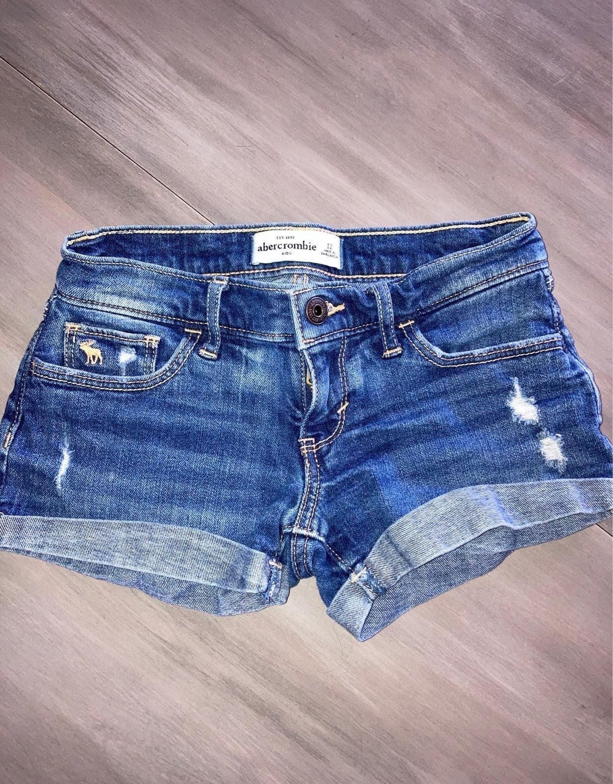 Abercrombie Jean Shorts