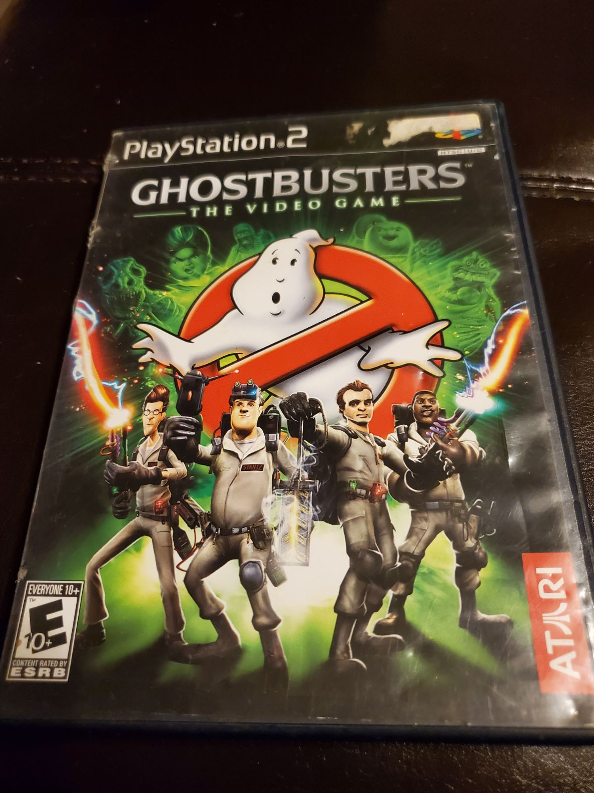 ghostbusters ps2 game