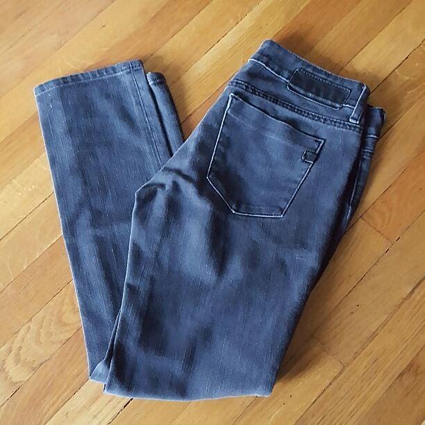 Serfontaine Black Skinny Stretch Jean 27