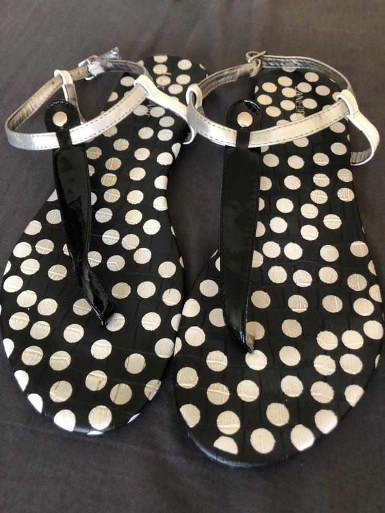 Womens Lane Bryant sandal size 12 black