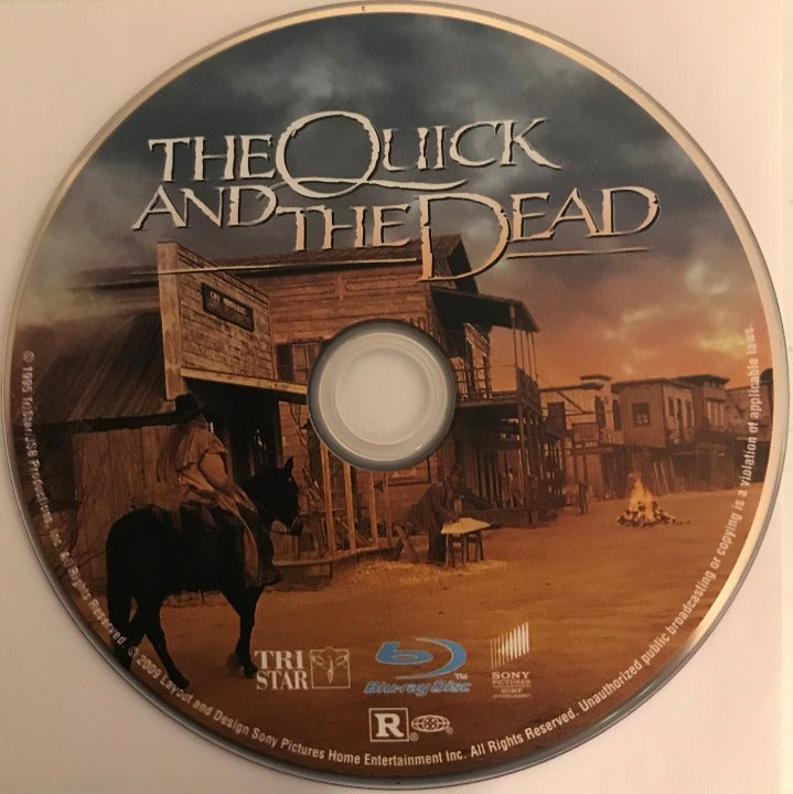 The Quick and the Death Blu-ray Media