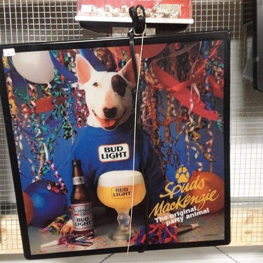 Original party animal spuds McKenzie lig
