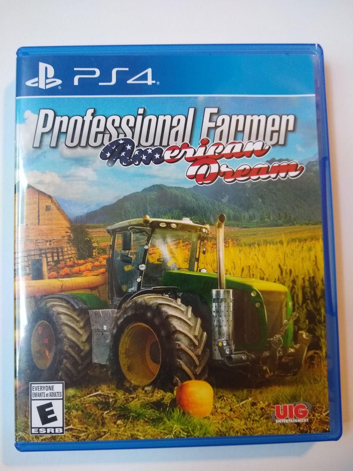 PROFESSIONAL FARMER AMERICAN DREAM PS4