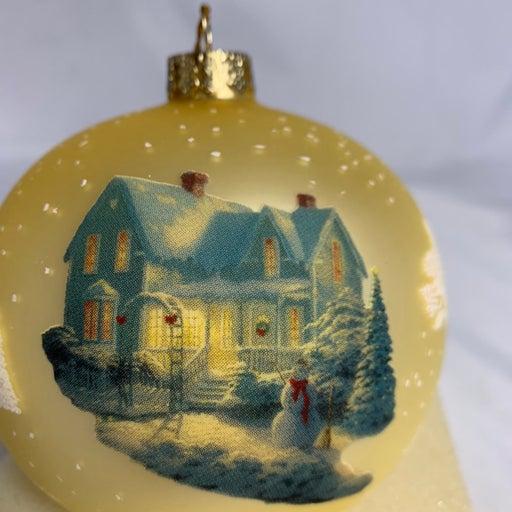 Thomas Kinkade Christmas Ornament