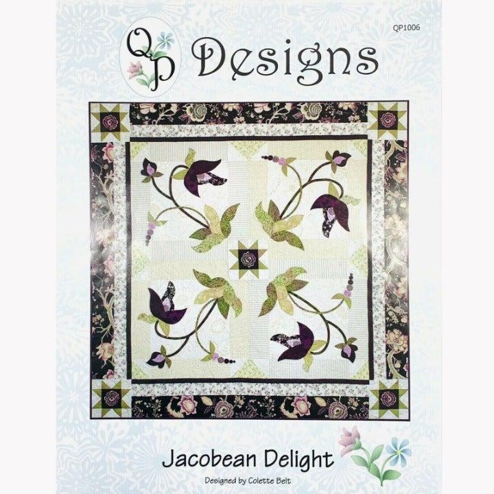 Jacobean Delight Quilt Pattern by Colette Belt for QP Designs Quilters Paradise