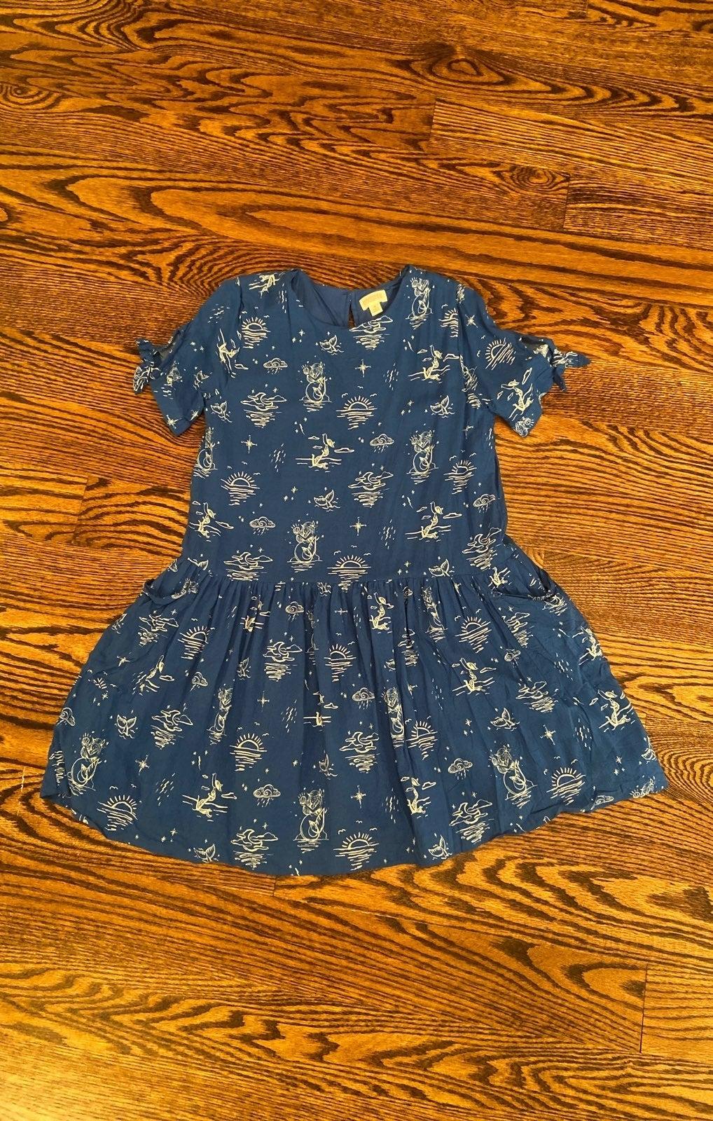 Gymboree mermaid gilrs summer dress, siz