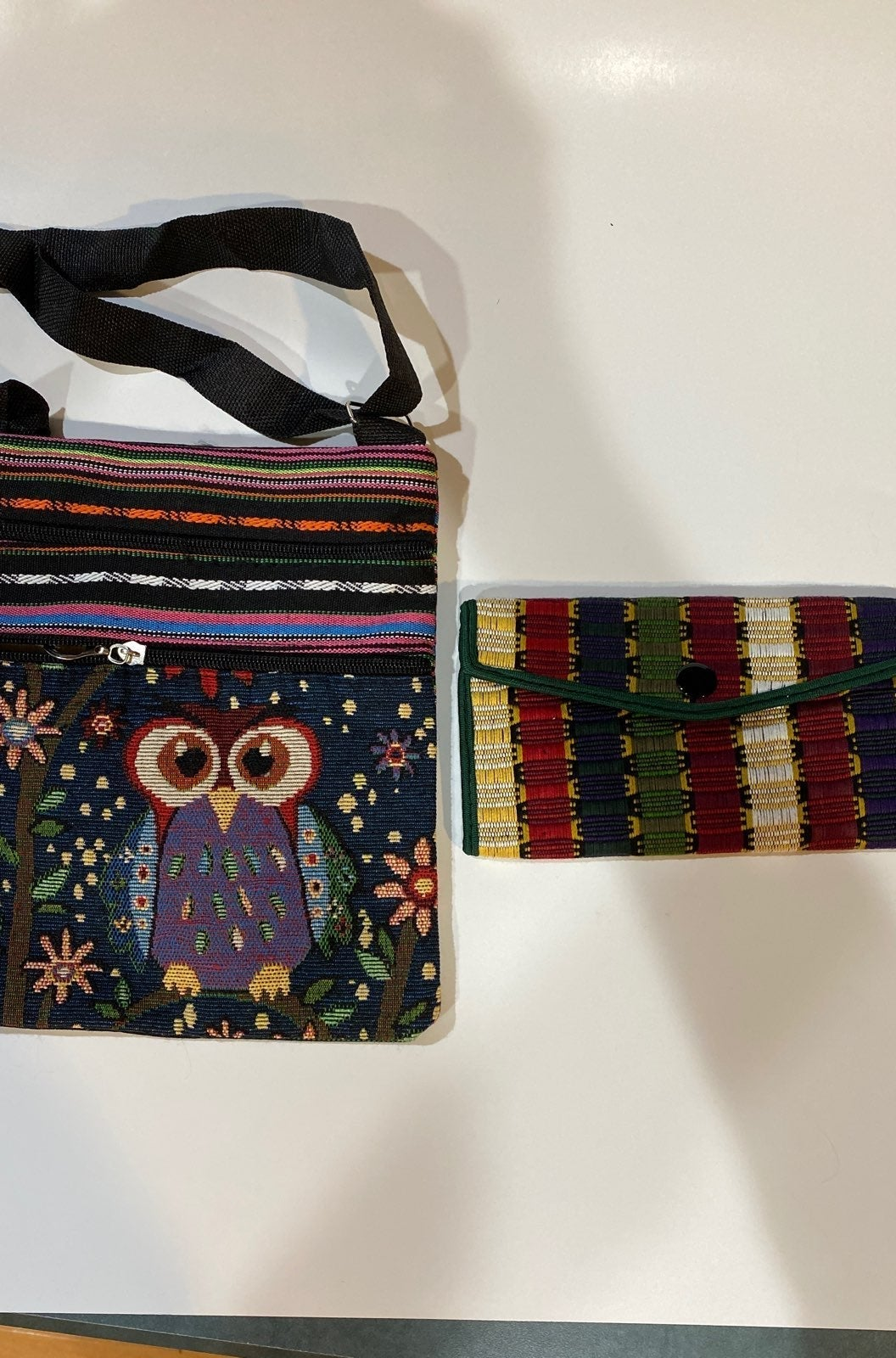 ADORABLE OWL PURSE AND WALLET SET!