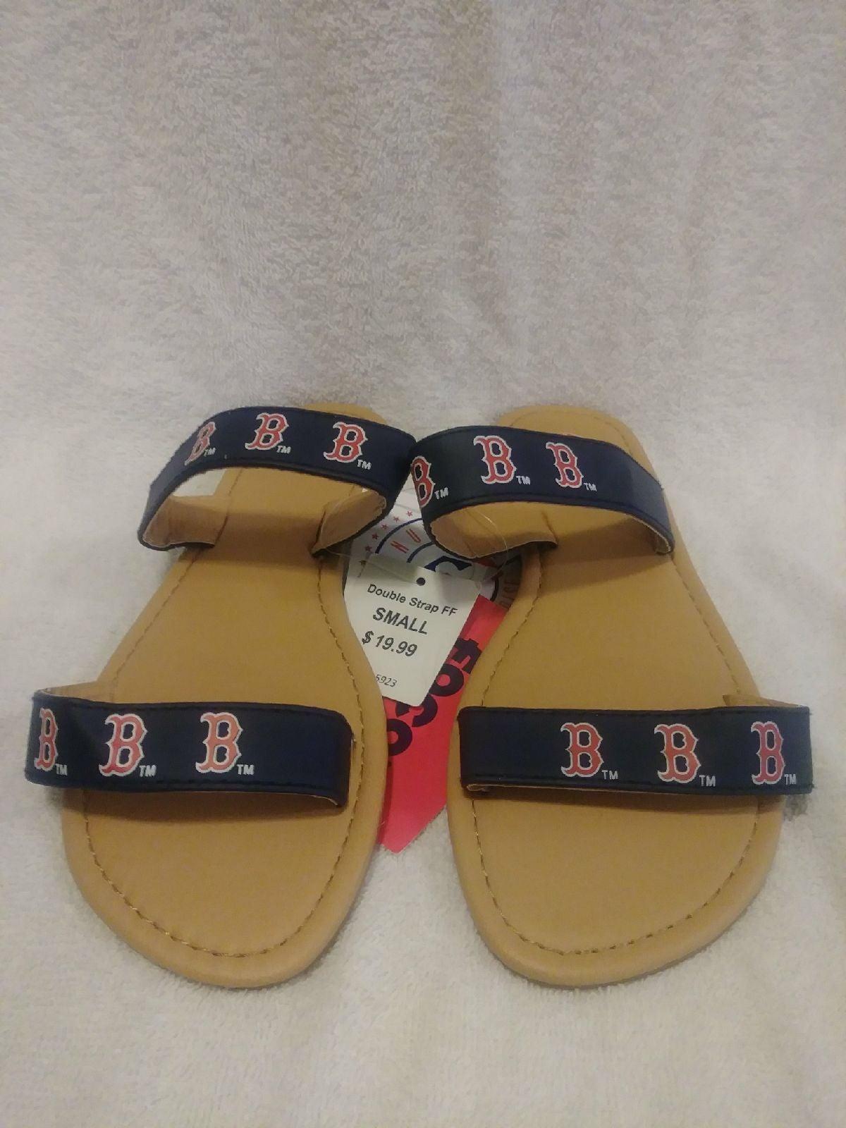 Boston Red Sox Women's Flip Flop Sz S
