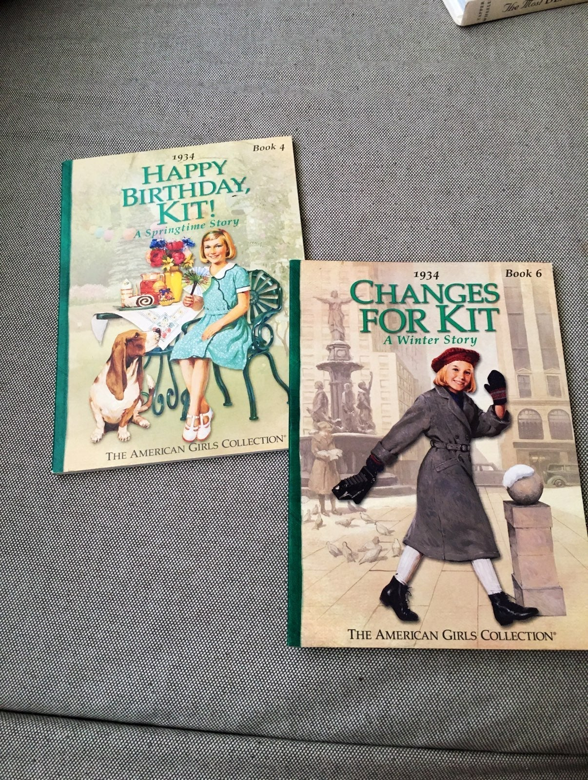 The American Girl Collection Book 4 & 6.