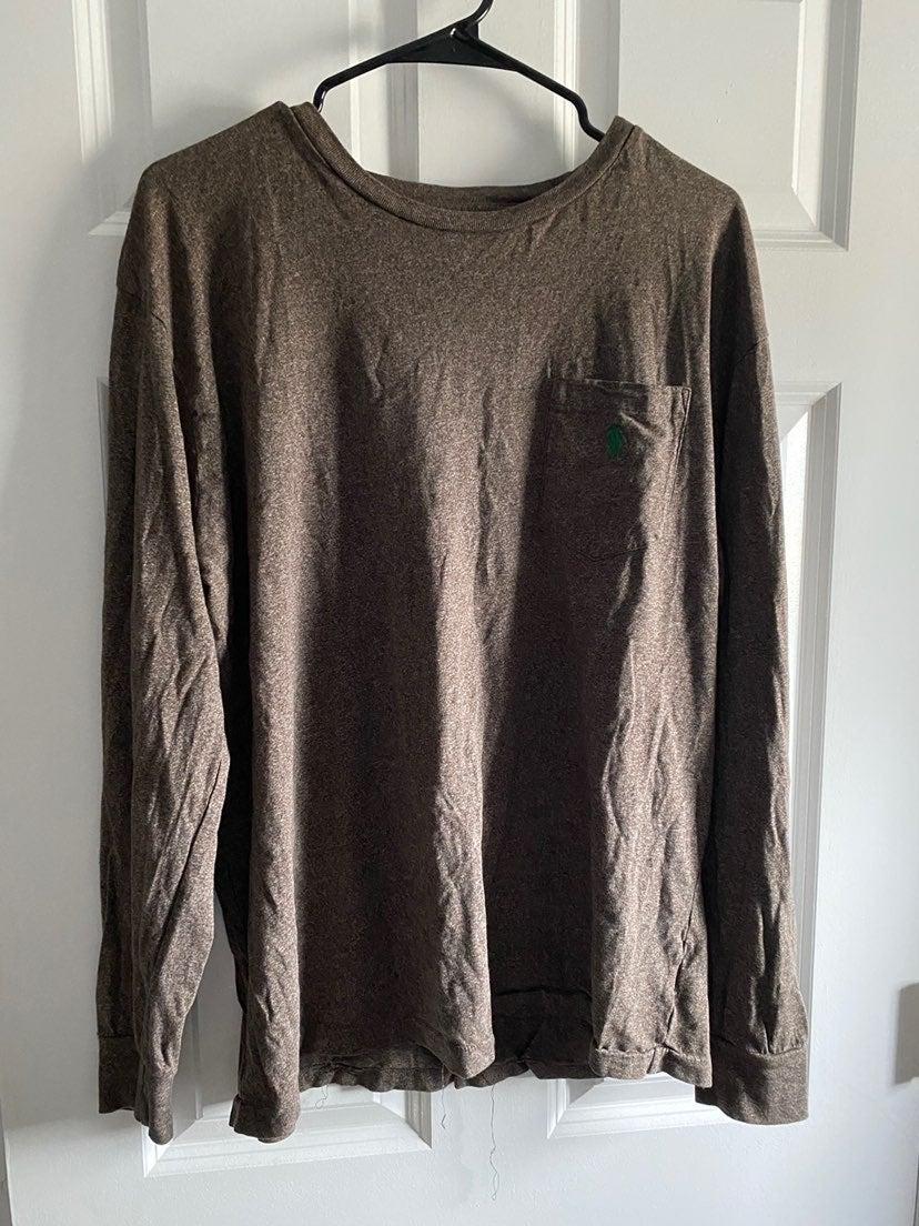 2 x polo ralph lauren long sleeve shirts