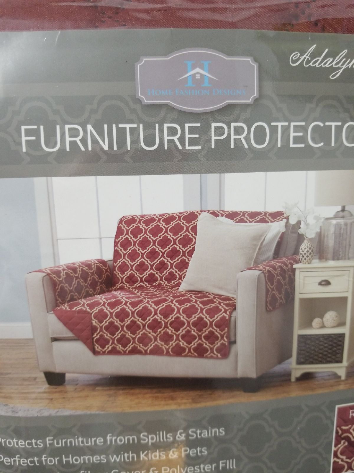New Loveseat cover Furniture protector