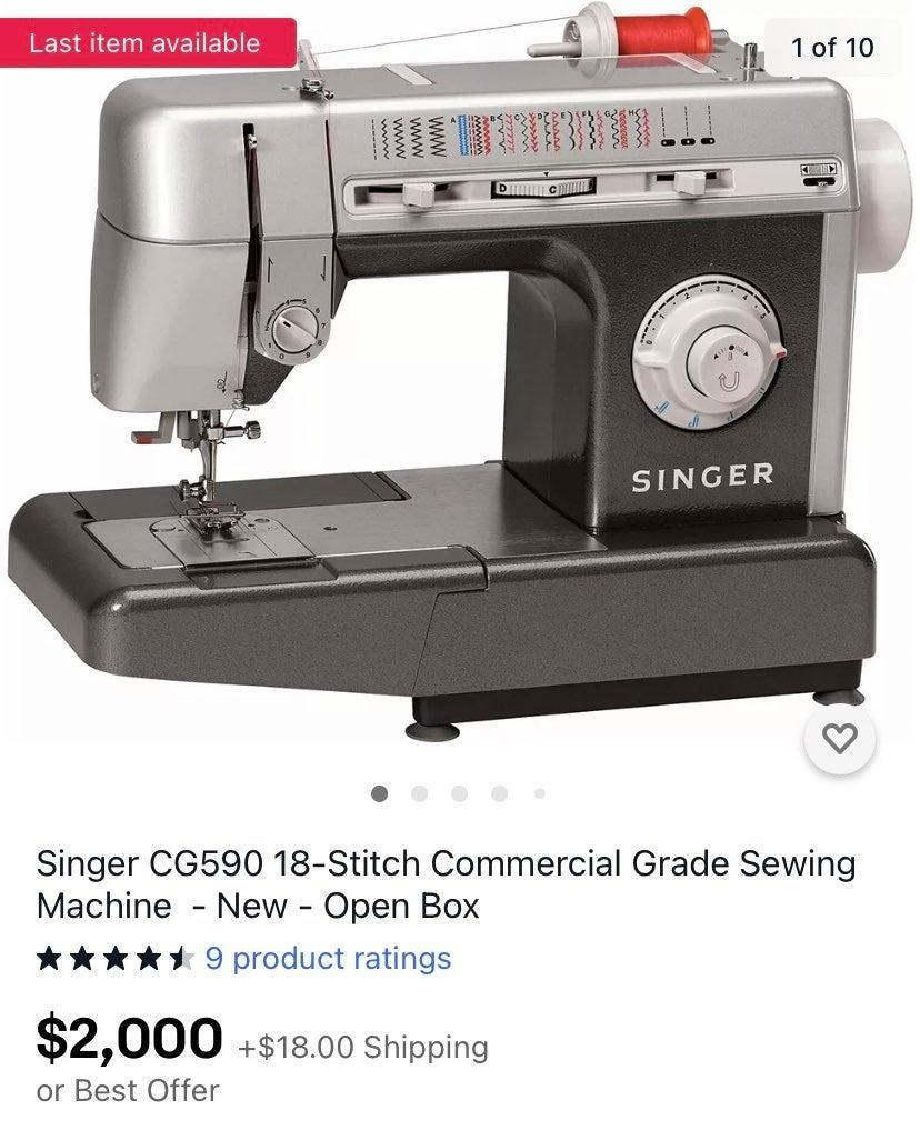 Singer CG590 18-Stitch Commercial Grade