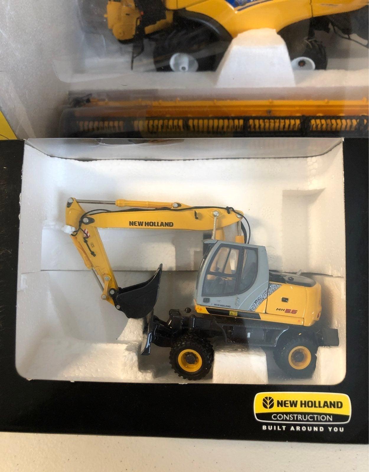 New holland mh5.6 excavator 1:50.