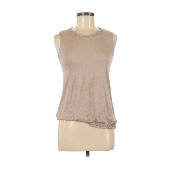 Max Studio 100% Linen Sleeveless Top S