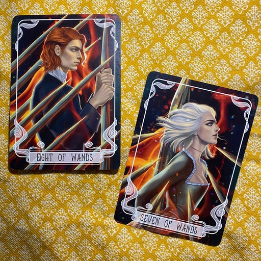 Fairyloot Serpent & Dove Tarot Cards
