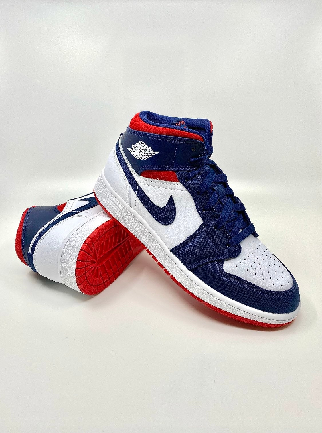 Nike Air Jordan 1 Mid USA Olympic 5.5Y
