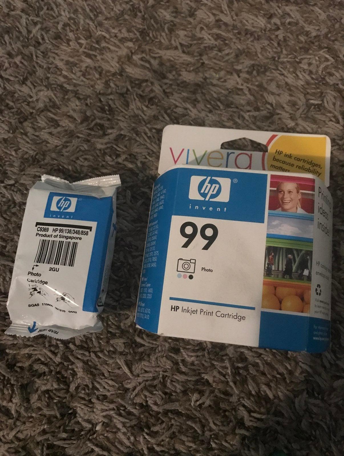 Hp ink 99 cartridges