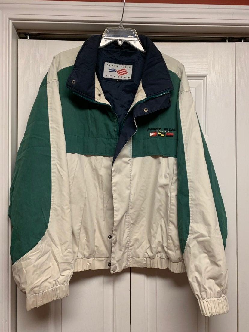 Perry Ellis America vintage jacket XL