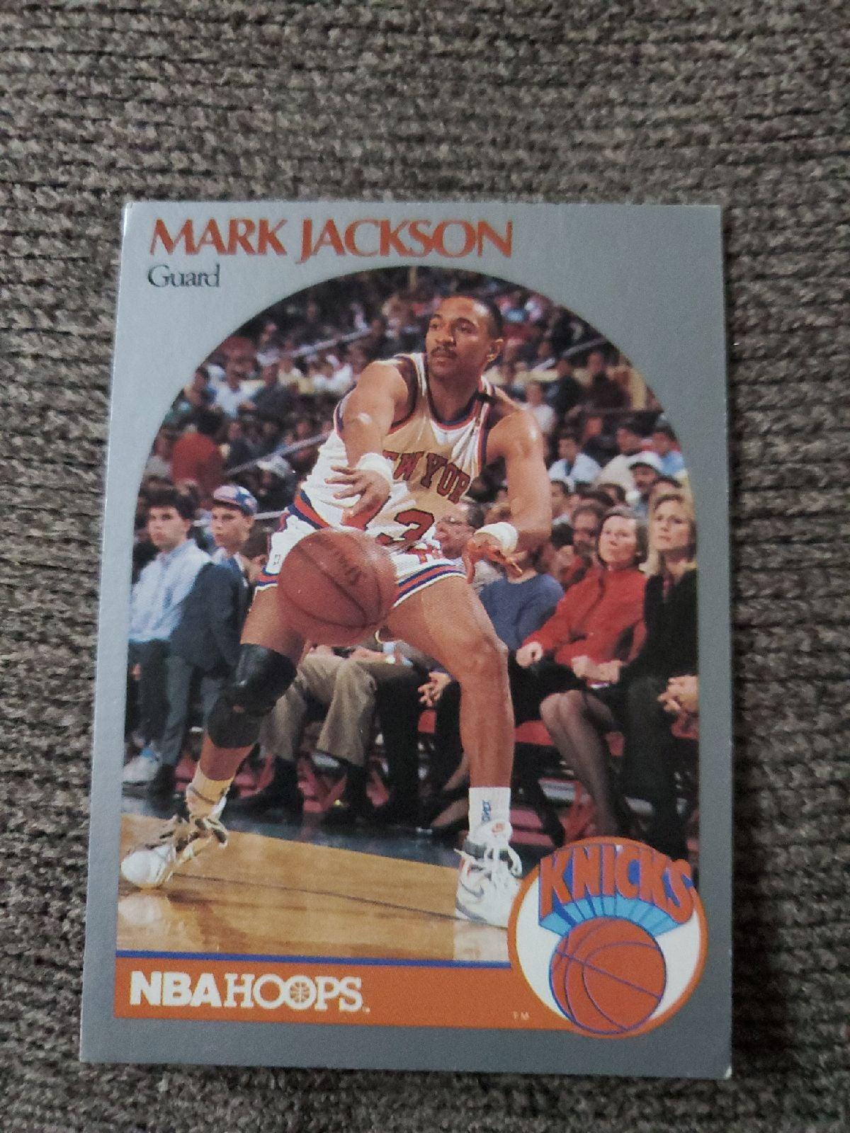 1990 Mark Jackson card