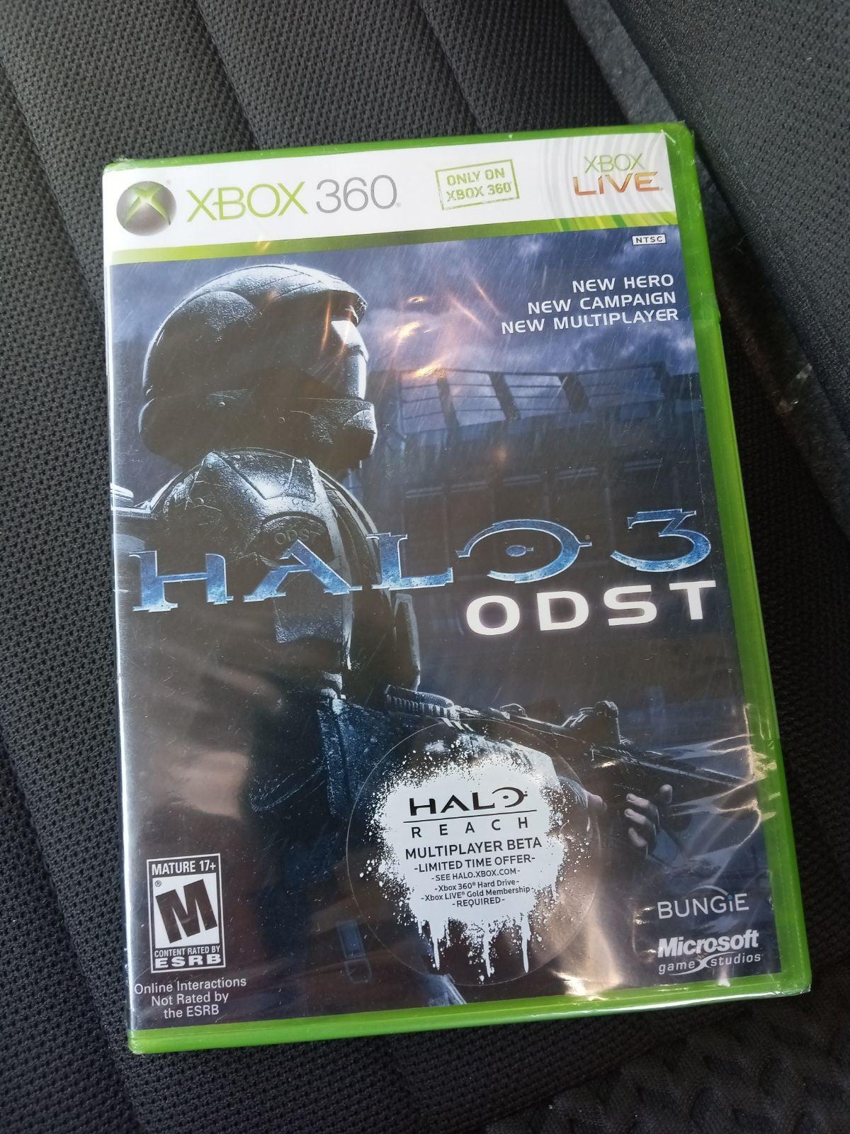 Halo 3: ODST on Xbox 360 NIP