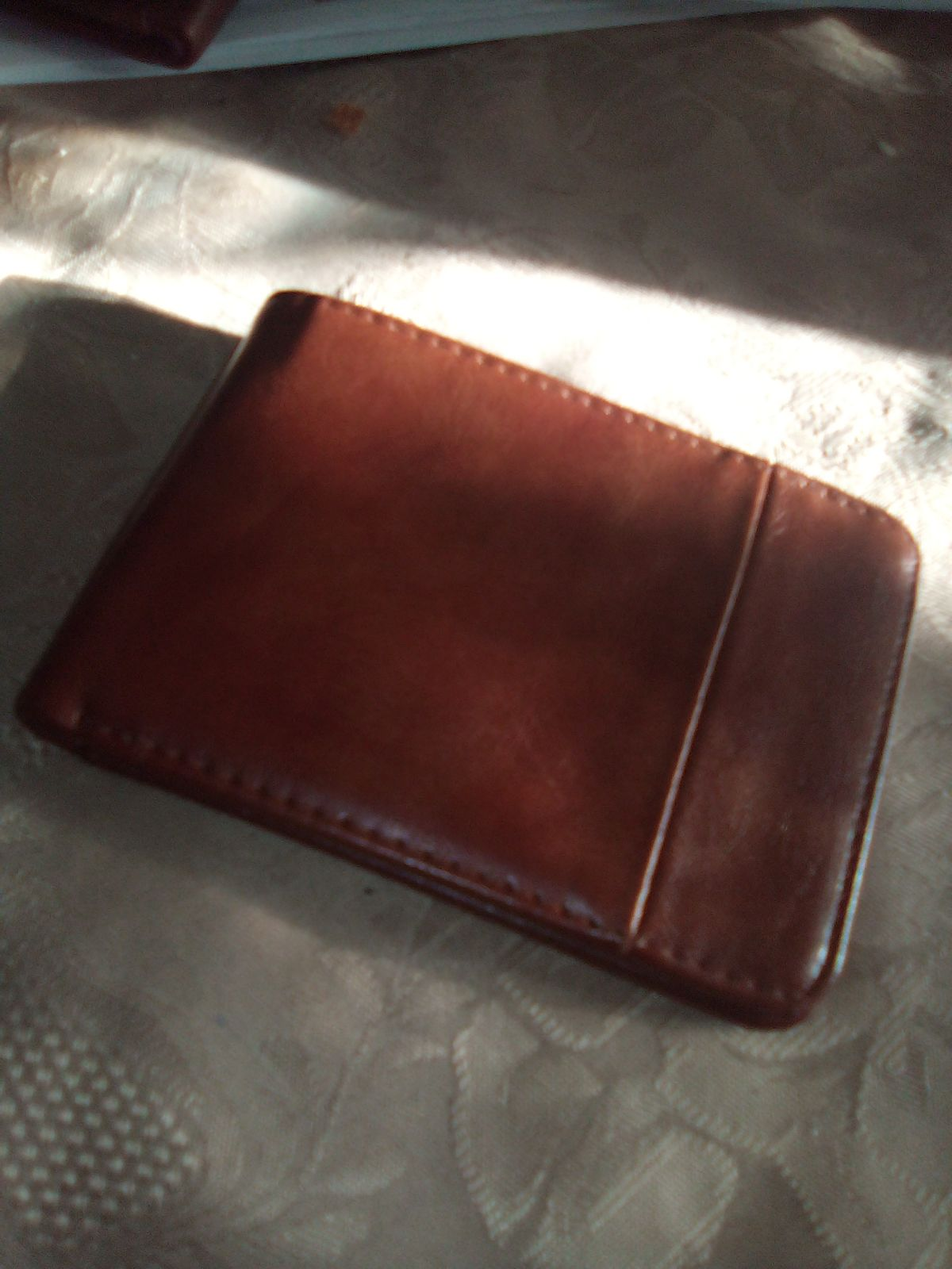 Express brown genuine leather Wallet