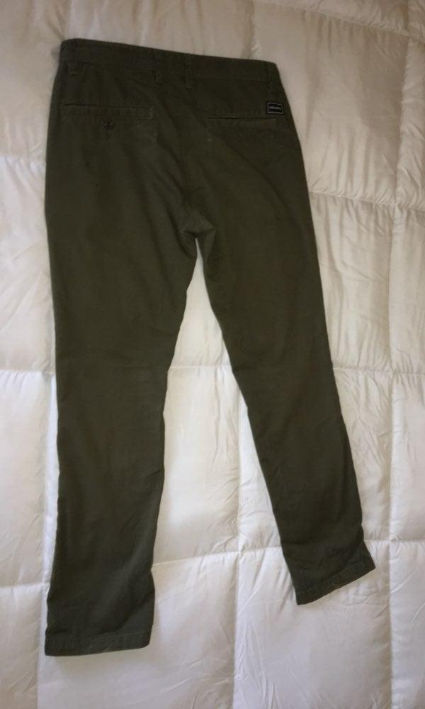 Volcom men's size 30 green pants