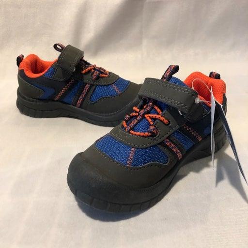 Toddler Boys Oshkosh Tennis Shoes Size 9 Blue/Gray