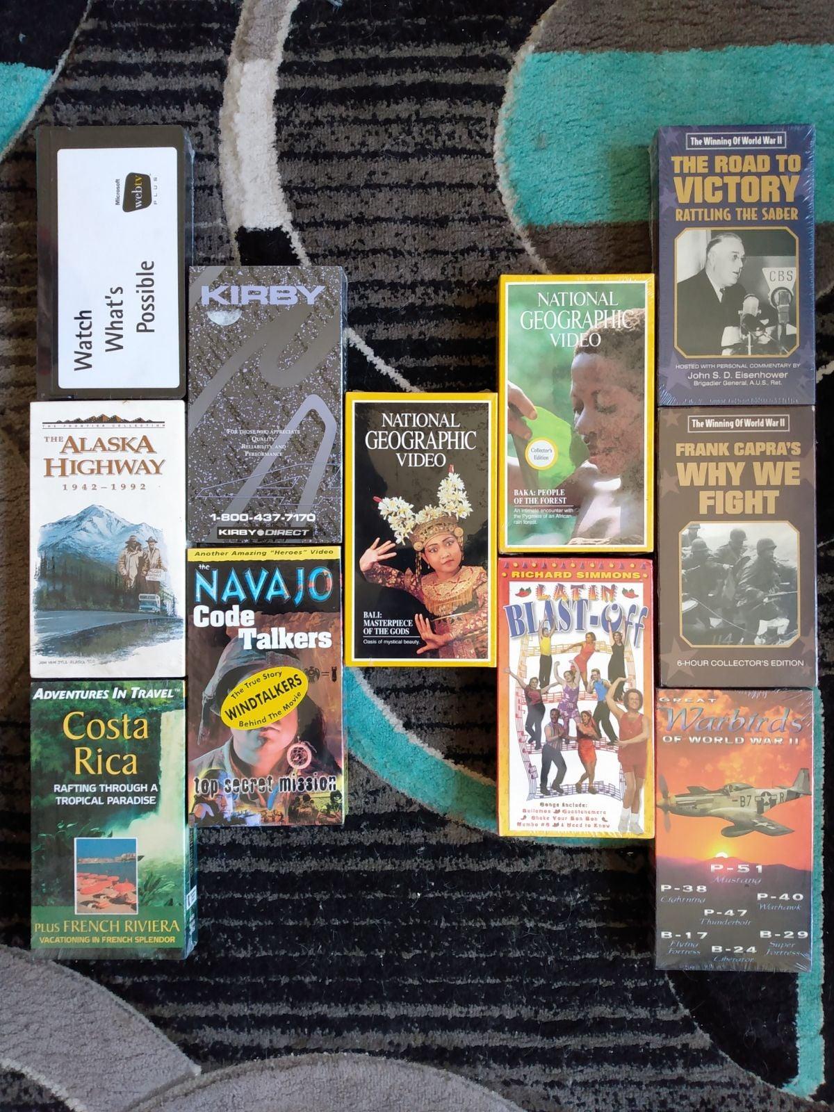 11 TAPE NIP NEW INFO/EDUCATIONAL VHS SET