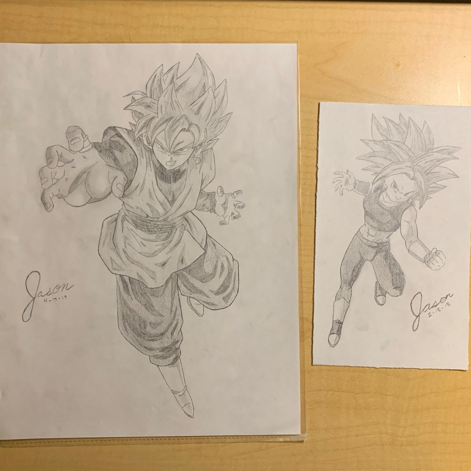 Dragon Ball Super Drawings