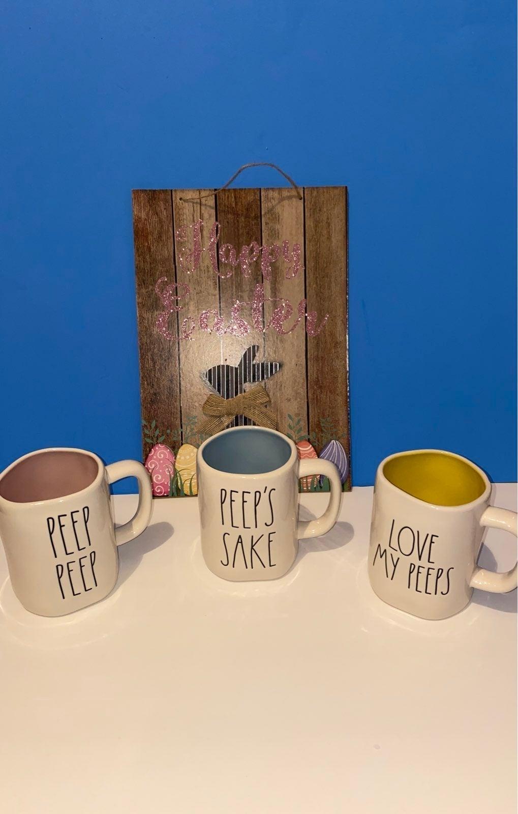 Rae Dunn Easter Peep Mug Set