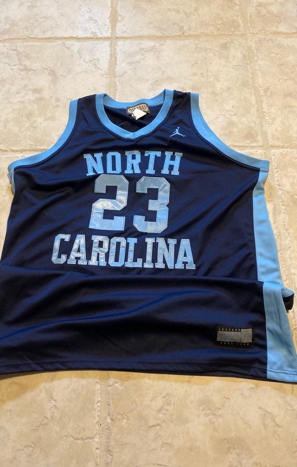 NCAA North Carolina JORDAN JERSEY