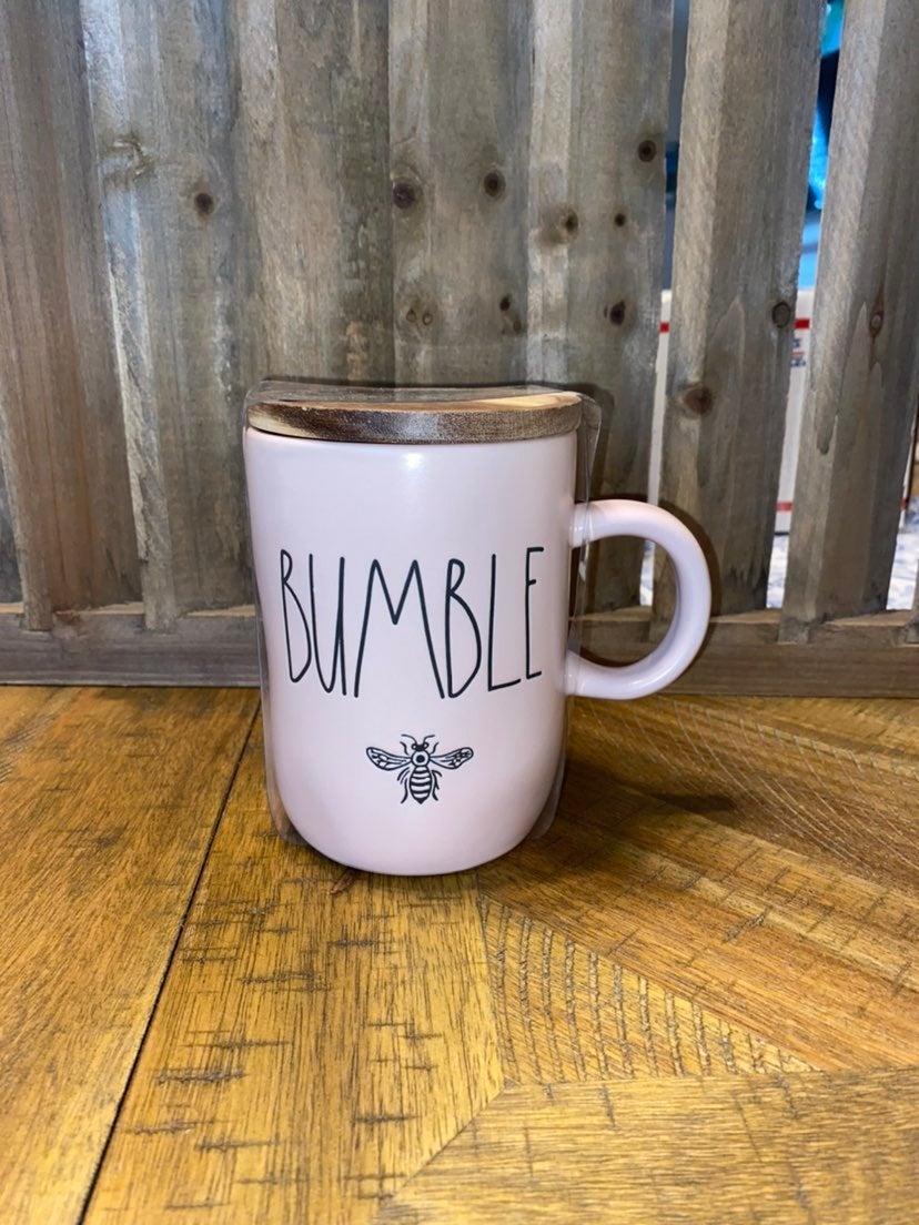 Rae Dunn Bumble Bee Mug w/ Lid
