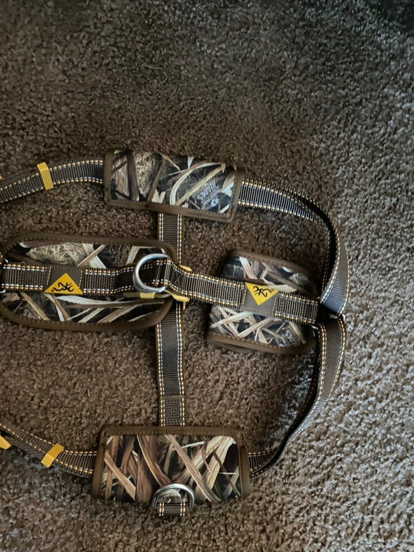 Browning large dog harness