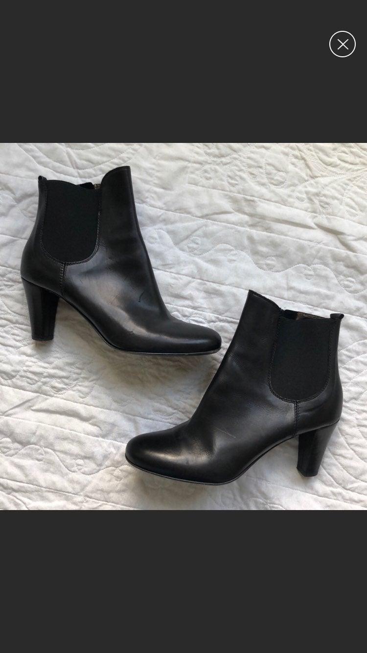 Attilio Giusti Leombruni leather ankle b
