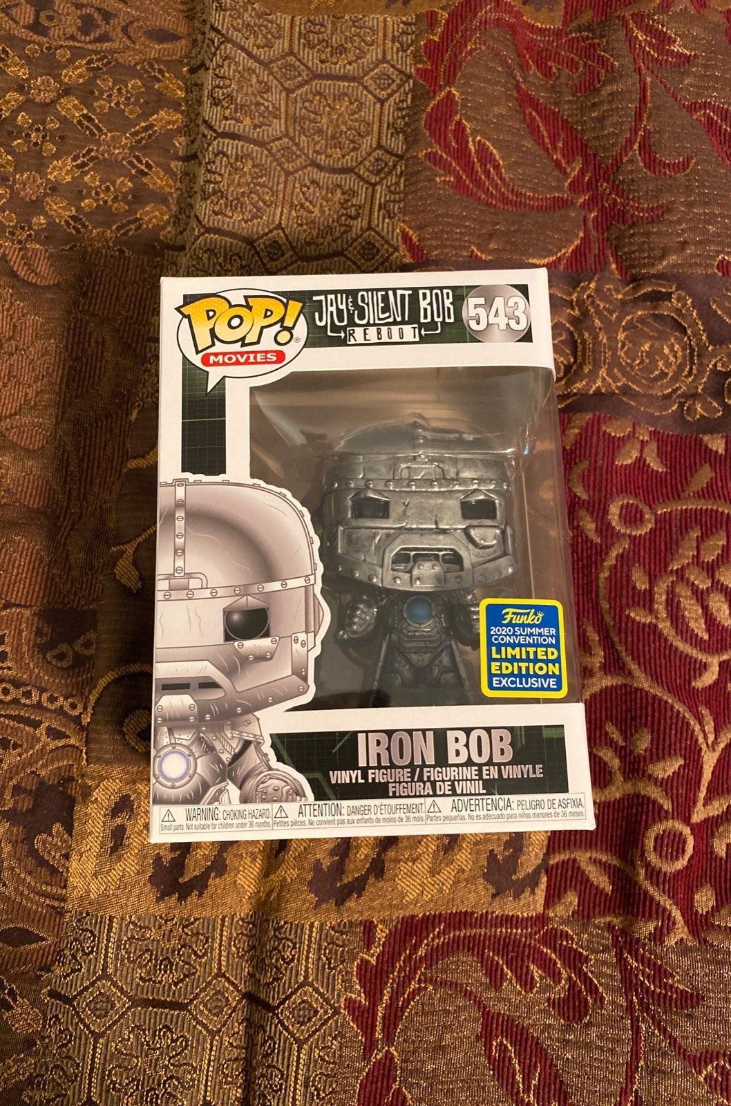 Iron Bob Funko Pop SDCC Shared Exclusive