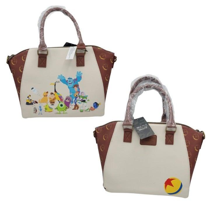 Loungefly Pixar Characters Satchel Bag
