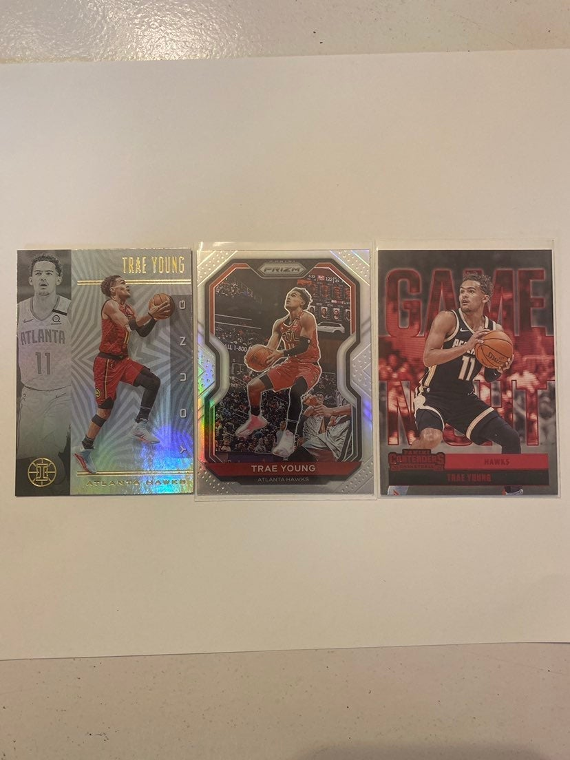 TRAE YOUNG LOT ATL HAWKS PRIZM