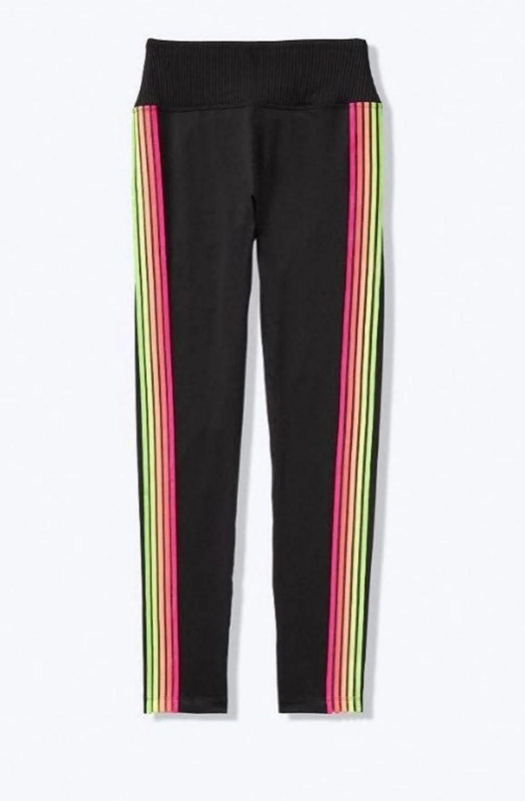 Victoria's secret PINK leggings rainbow