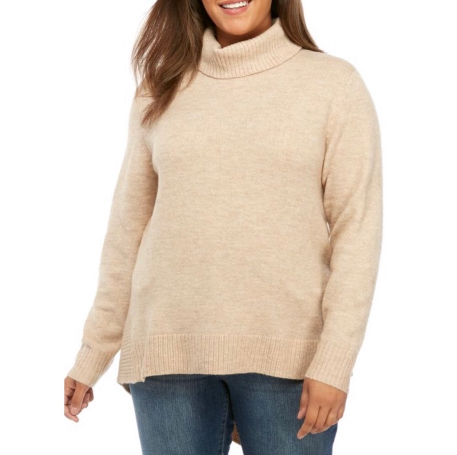 New Directions Turtleneck Sweater 3X