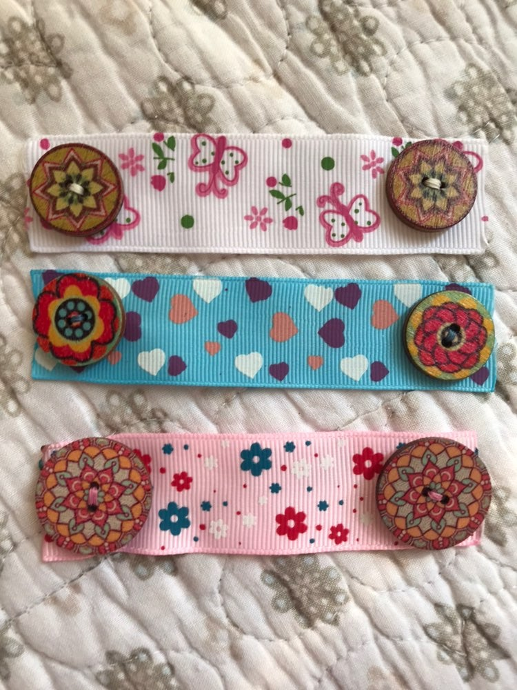 Handmade Ribbon Ear Savers/Protector