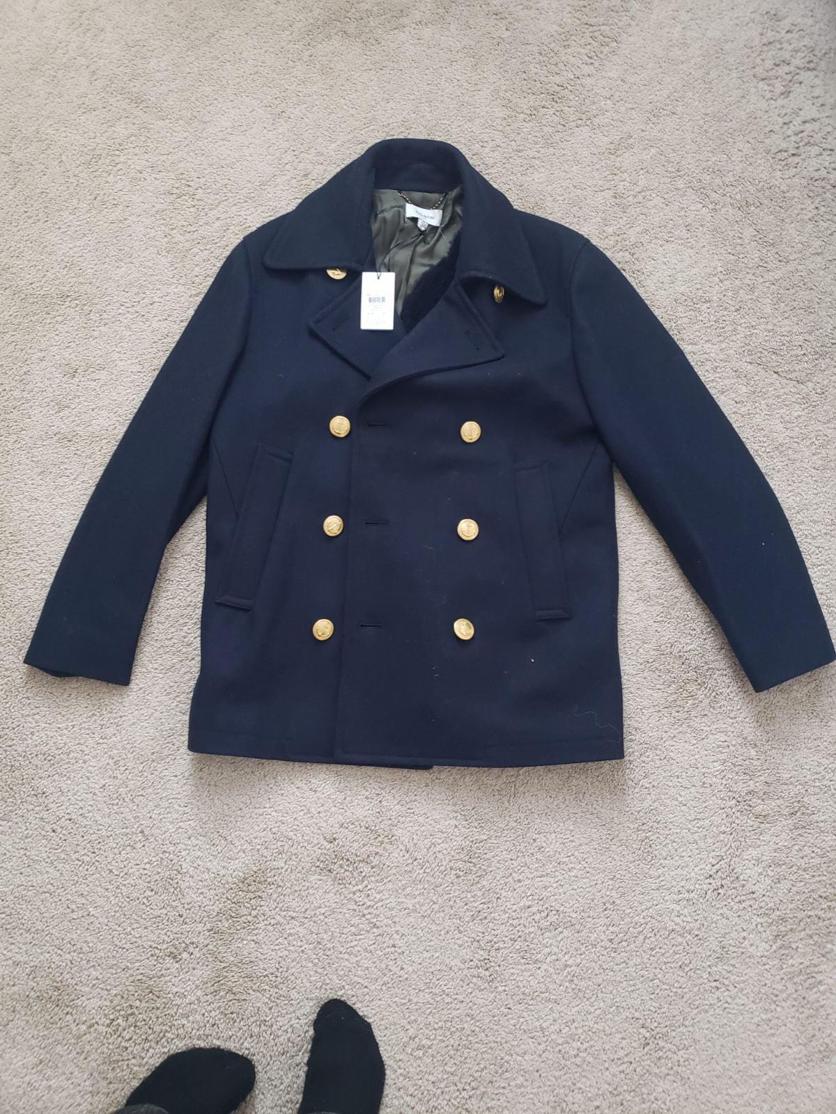 NWT Coach 1941 Mariners Pea Coat Size 46