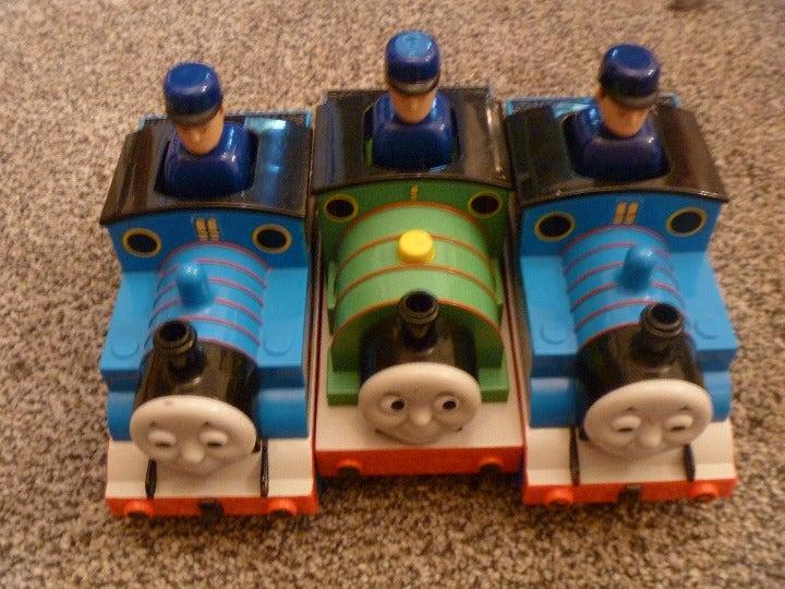 Thomas Percy Push & Go Lot Trains