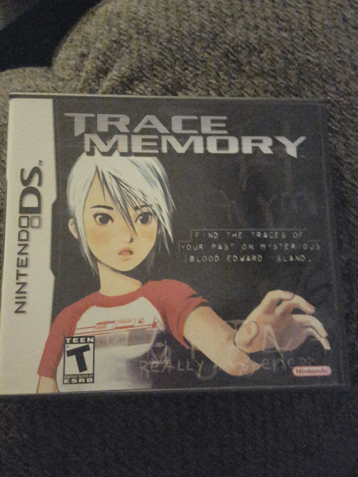 Nintendo DS Trace Memory game