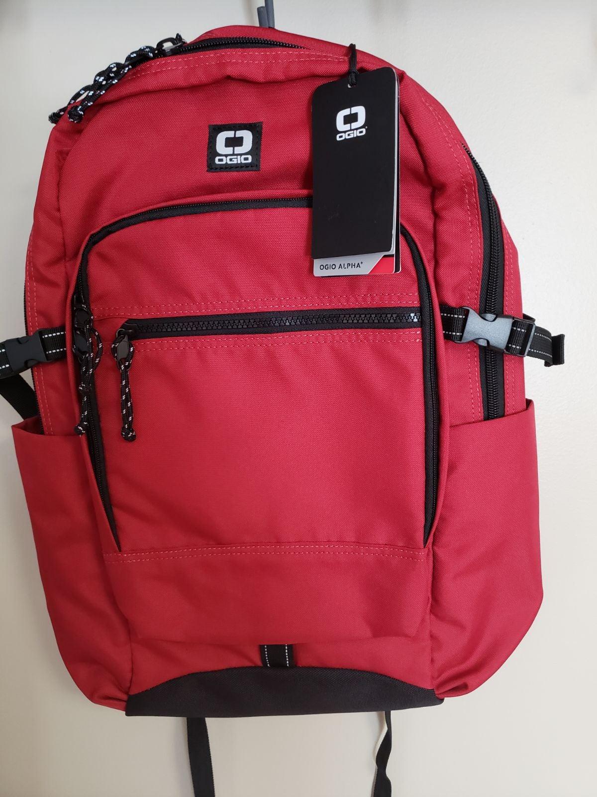 Ogio Alpha Red Backpack