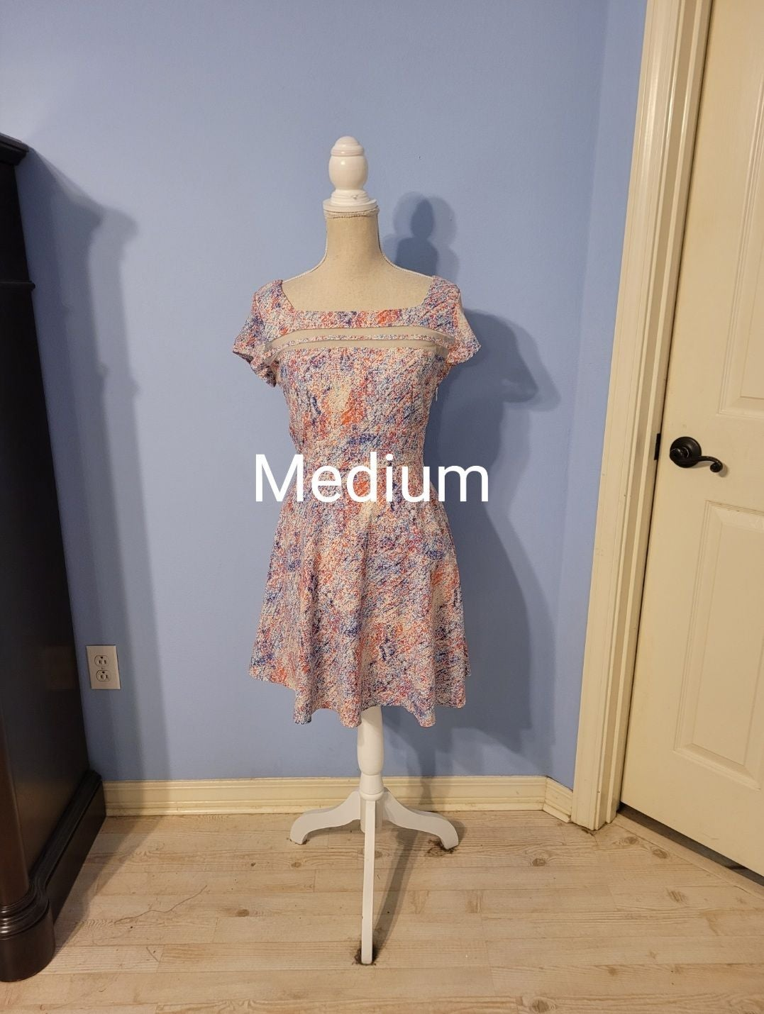 Pink Owl Medium Womens Dress