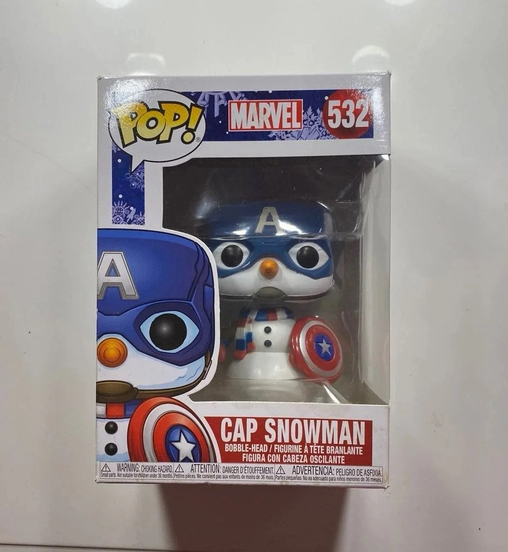Captain America Funko Pop #532