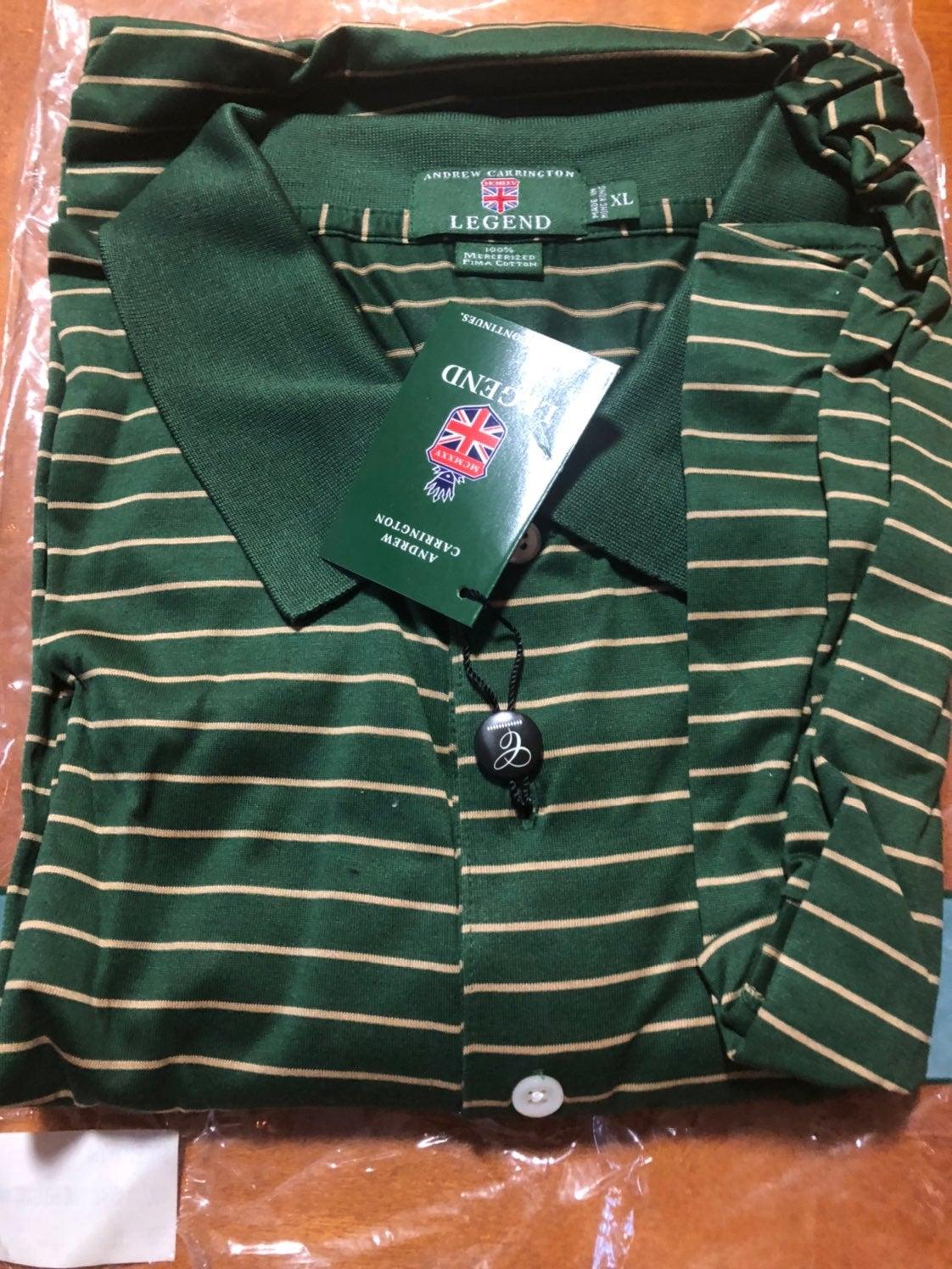 Carrington Legend Golf shirt size XL
