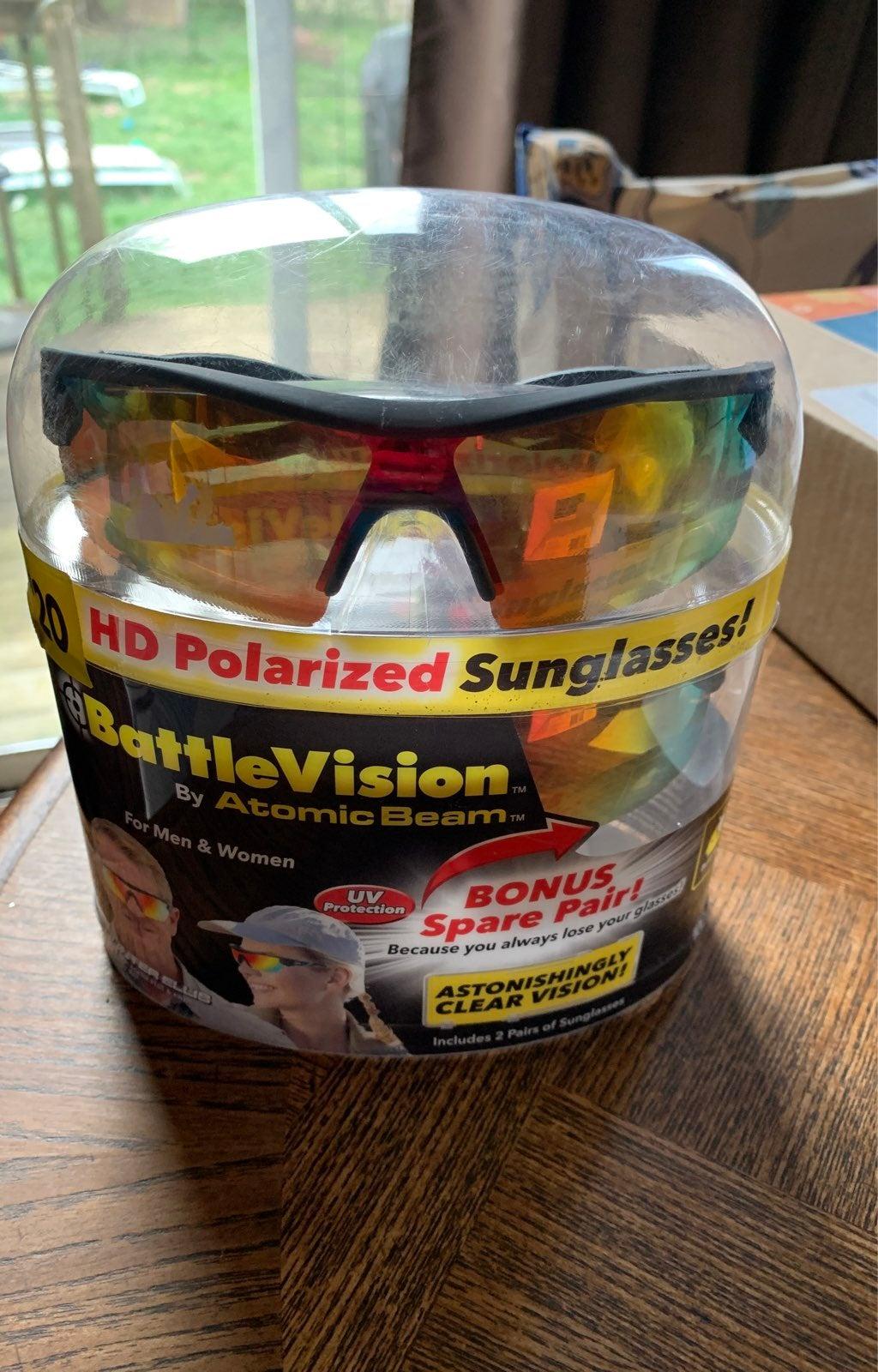 HD Polarized sunglasses for F/M.