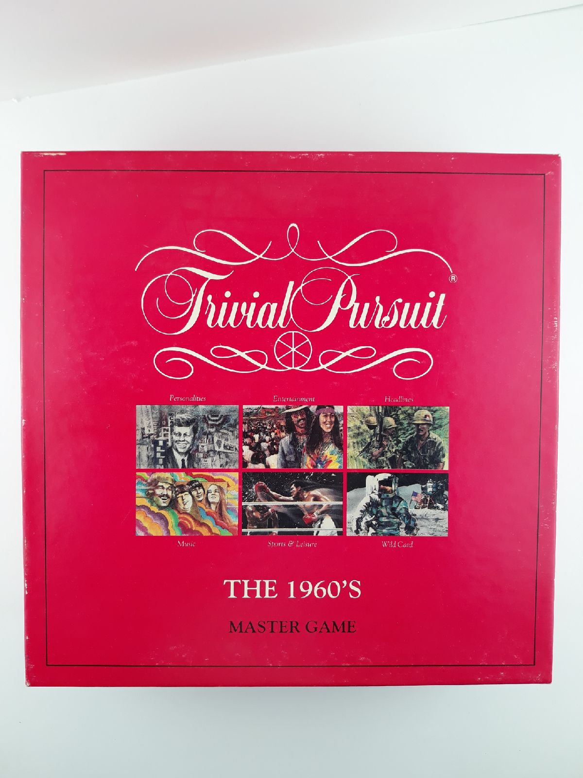 Trivial Pursuit the 1960s Master Game Pa