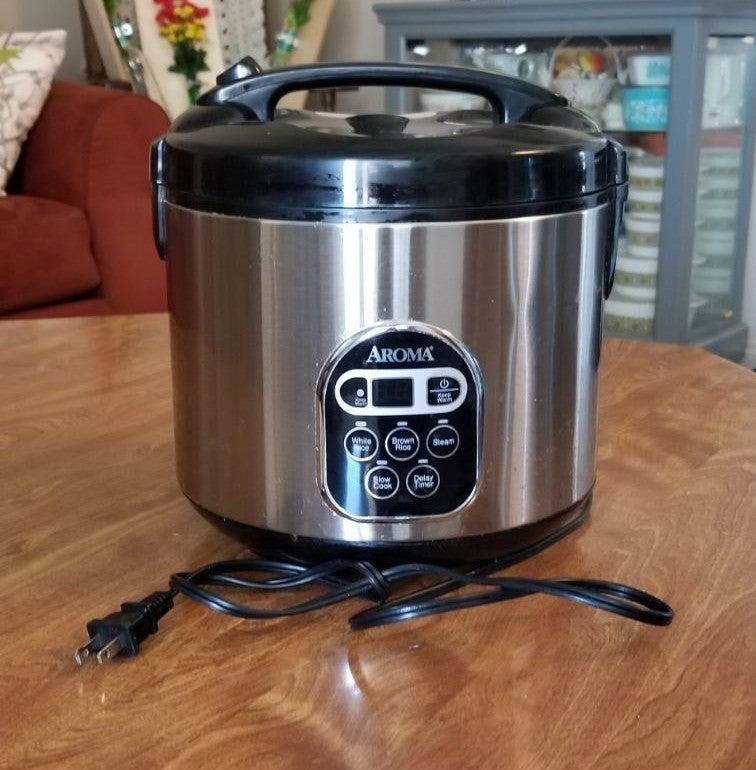 Aroma 3 qt Rice/ Multi Cooker
